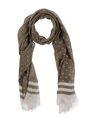 Diesel Oblong Scarves Military Green
