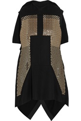 Rick Owens Sphinx Sequin Embellished Wool Blend Vest
