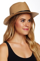 14Th And Union Knit Paper Panama Hat Beige