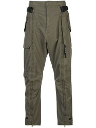 Mostly Heard Rarely Seen Zip Up Cargo Trousers 60