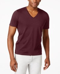Inc International Concepts Men's Kenny V Neck Short Sleeve T Shirt Only At Macy's Sweet Cinn