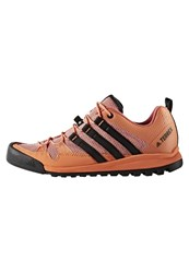Adidas Performance Terrex Solo 285 Climbing Shoes Easy Orange Core Black Tactile Pink