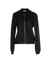 Frankie Morello Coats And Jackets Jackets Women Black