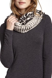 Nine West Tiger Infinity Scarf Multi