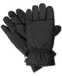 Isotoner Signature Men's Ultradry Sports Gloves Black