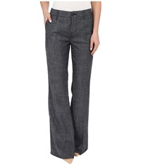 Level 99 Tanya Trousers Indigo Women's Casual Pants Blue