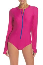 Mott 50 Women's Long Sleeve One Piece Swimsuit