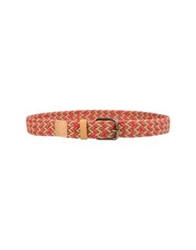 Levi's Made And Crafted Belts Red