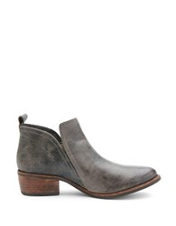 Matisse Courage Suede Ankle Boots Charcoal Grey