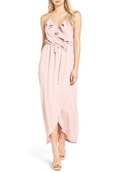 Everly Women's Ruffle Wrap Maxi Dress