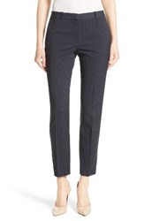 Boss Women's Tiluna Pinstripe Slim Ankle Pants