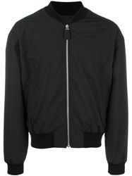 Maison Martin Margiela Diamond Stitch Bomber Jacket Black