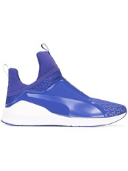 Puma Slip On Sneakers Blue