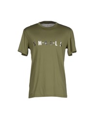 Golden Goose Topwear T Shirts Men Military Green