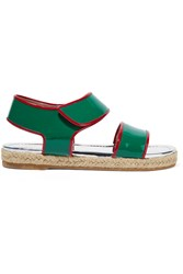 Marni Patent Leather Sandals Green