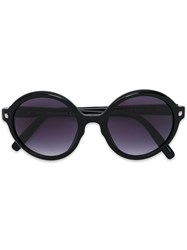 Dsquared2 Round Frame Sunglasses Women Acetate One Size Black