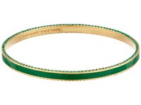 Kate Spade The Bangles Enamel Bangle Green Multi