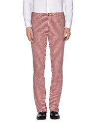 M.Grifoni Denim Trousers Casual Trousers Men Garnet