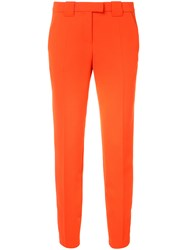 Barbara Bui Fitted Tailored Trousers Women Polyester 6
