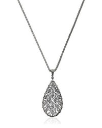 Buccellati Ramage Diamond Charm Pendant Necklace