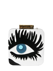 Essentiel Perspex Eye Clutch