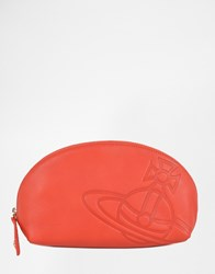 Vivienne Westwood Orb Turner Make Up Bag Red