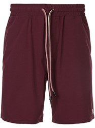 The Upside Running Shorts Red