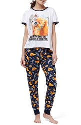 Women's Topshop 'Lady And The Tramp' Pajamas