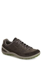 Men's Ecco 'Biom Grip Ii' Sneaker Dark Shadow Leather