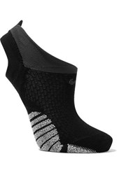 Nike Studio Cutout Stretch Knit Socks Black