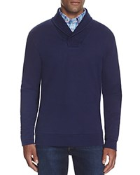 Vineyard Vines Terry Shawl Collar Pullover Deep Bay