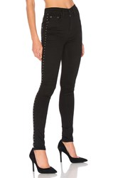 Rag And Bone Dive Jean Studded Black