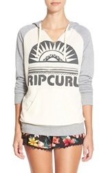 Rip Curl 'Sunray' Pullover Hoodie Ivory