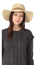 Madewell Stitched Packable Straw Hat Natural