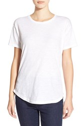 Women's Madewell Slub Crewneck Tee Optic White