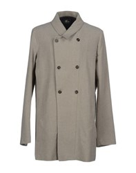 Lost And Found Lost And Found Coats And Jackets Coats Men Light Grey