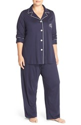 Plus Size Women's Lauren Ralph Lauren Knit Pajamas Online Only