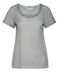 Sandwich Netting T Shirt Grey