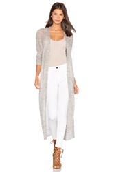 Charli Ailean Long Cardigan Gray