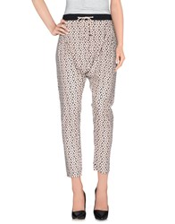 Red Soul Trousers Casual Trousers Women Ivory