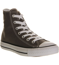 Converse All Star Canvas High Top Trainers Grey