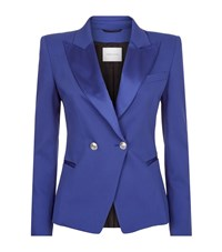 Pierre Balmain Tuxedo Jacket Female Blue