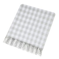 Sanderson Anthea Woven Throw Grey