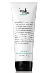 Philosophy Fresh Cream And Mint Body Lotion