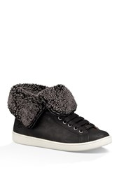 Starlyn Genuine Shearling And Uggpure Tm Lined Sneaker Blk