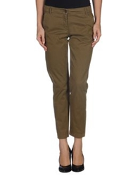 Hartford Casual Pants Military Green