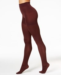 Spanx Cable Knit Tights Chestnut