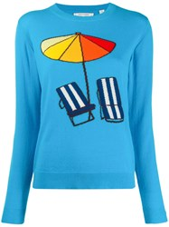 Chinti And Parker Beach Sweater Blue
