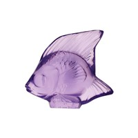 Lalique Fish Figure Light Purple
