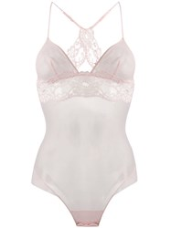 La Perla Tres Souple Lace Detail Body Pink